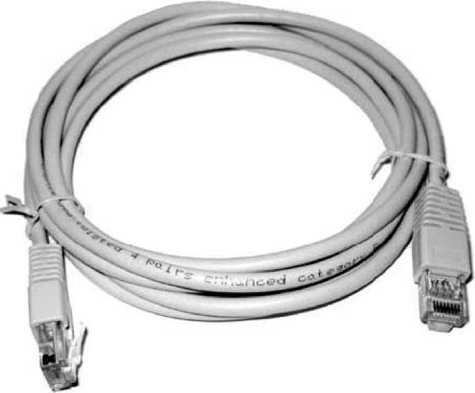 UTP кабель обжат с 2 сторон