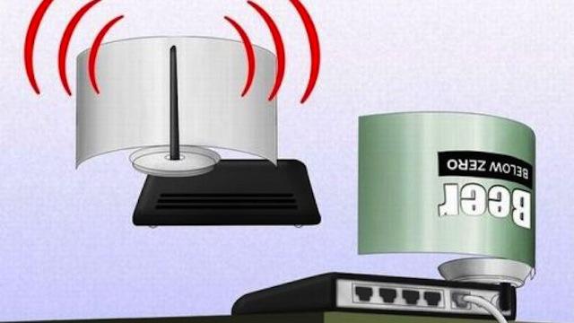 Useleniye signala WiFi svaimi rukami
