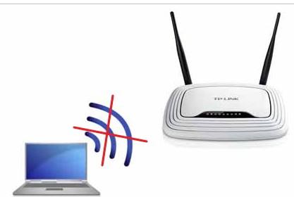 Нет WI-FI на ноутбуке и роутере