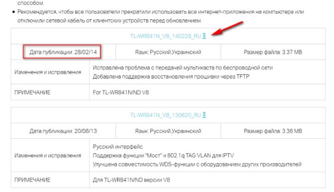 Где скачать русскую прошивку Tp-link TL-WR841